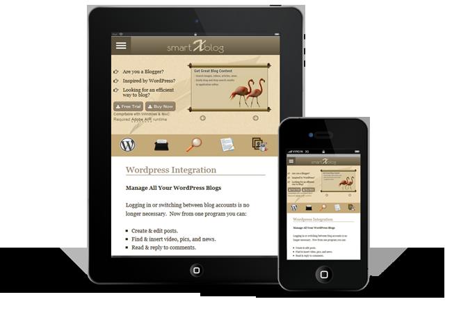 100% responsive web design