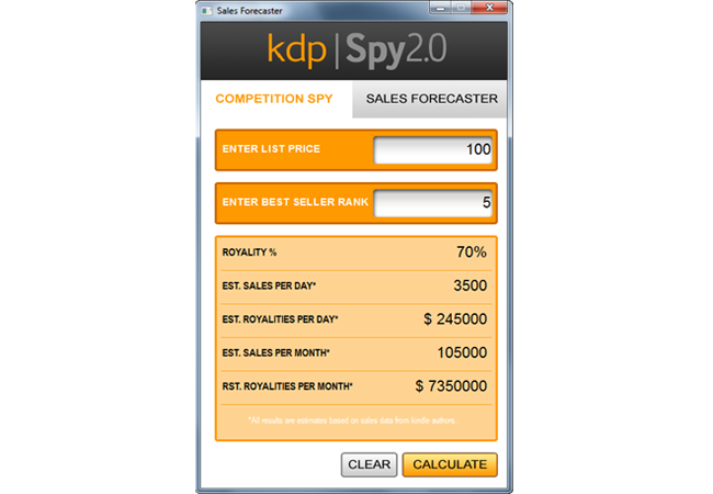 Competition spy